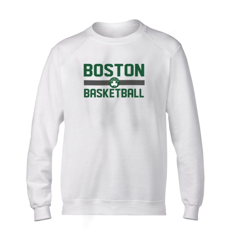 Boston Basketball Basic (BSC-WHT-NP-369-bos.bsktbll)