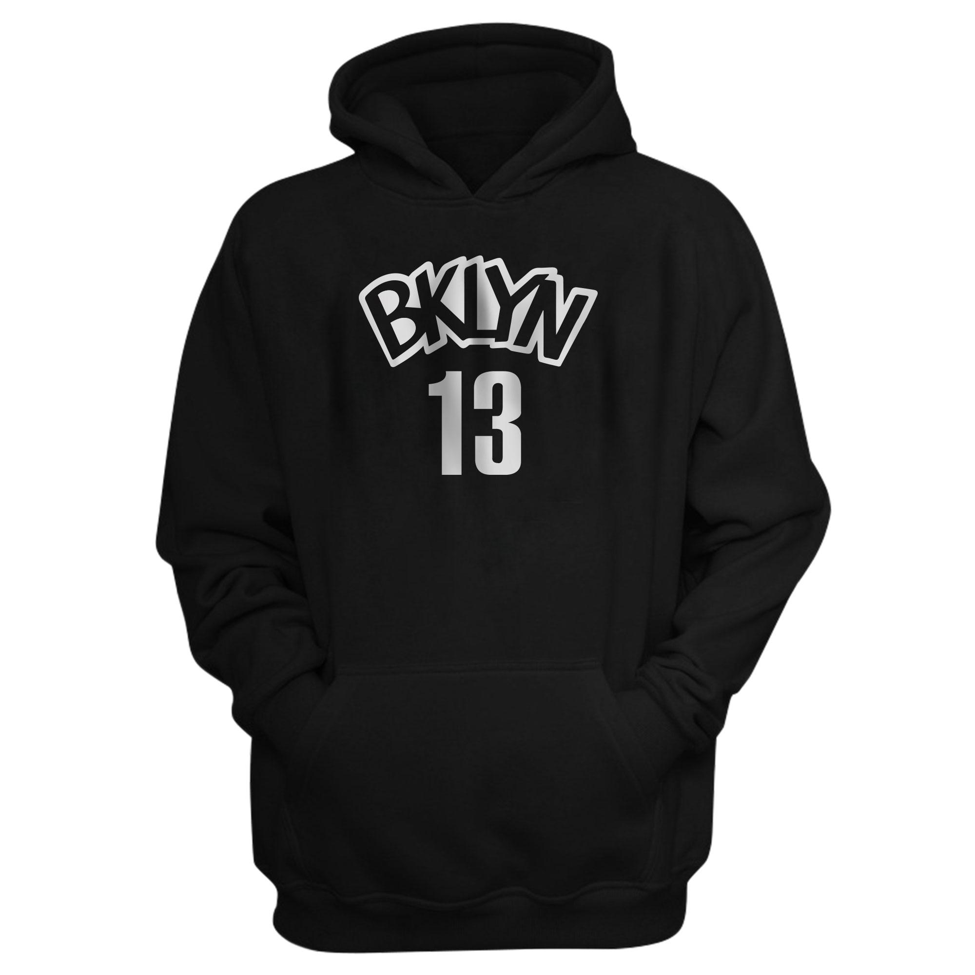 Brooklyn Nets  James Harden  Hoodie  (HD-BLC-PLT-640)