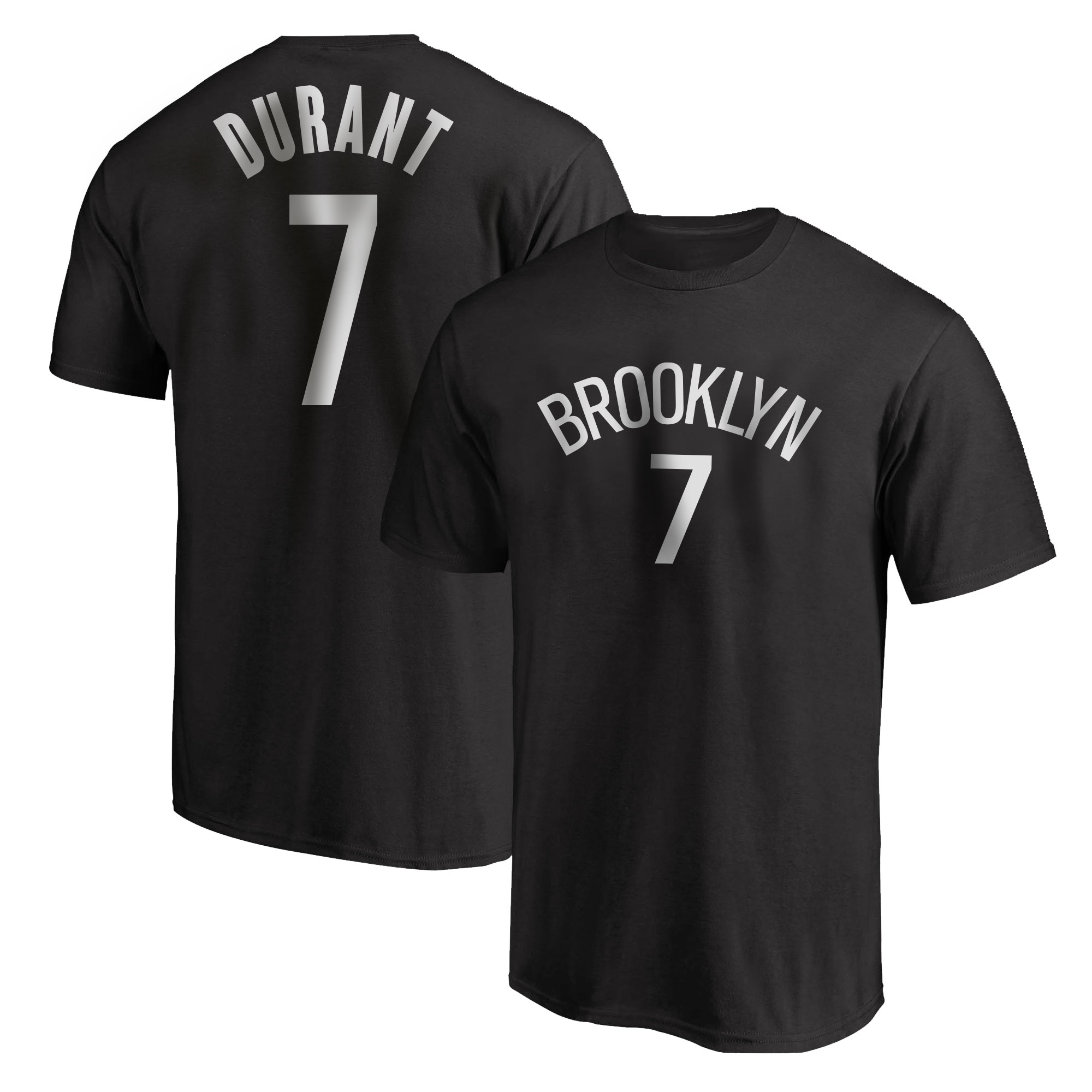 Brooklyn Nets Kevin Durant T-shirt (TSH-BLC-NP-642)