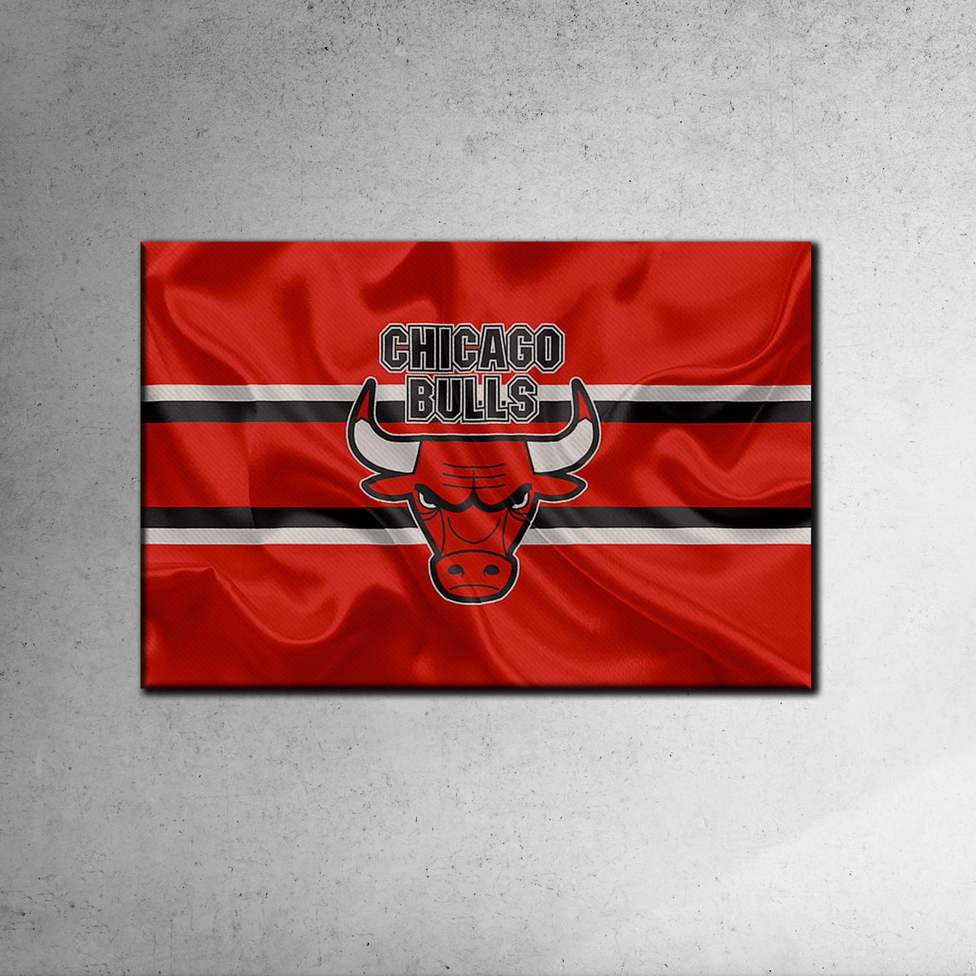 Chicago Bulls Canvas Tablo (Nba-canvas-bulls1)