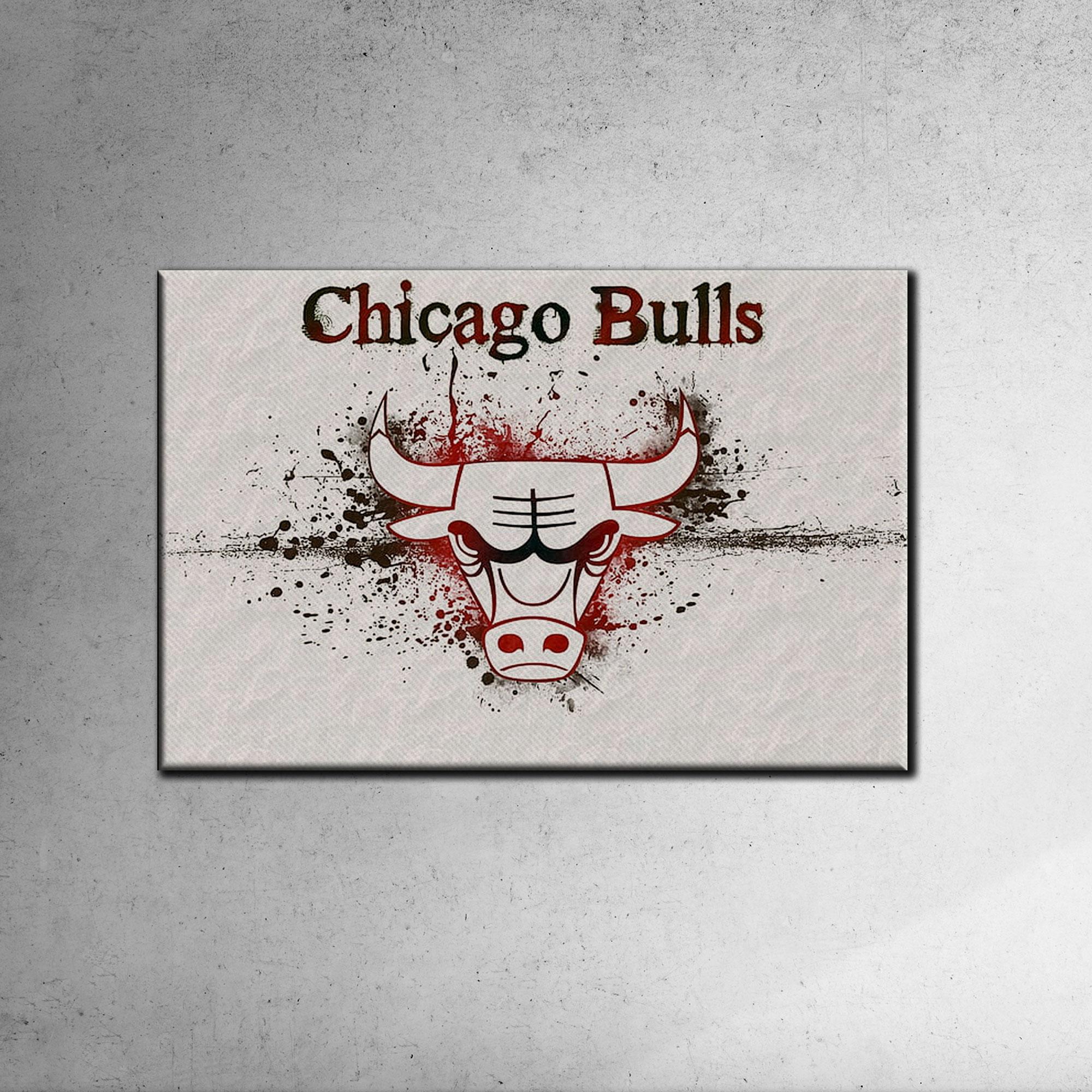 Chicago Bulls Canvas Tablo (Nba-canvas-bulls2)