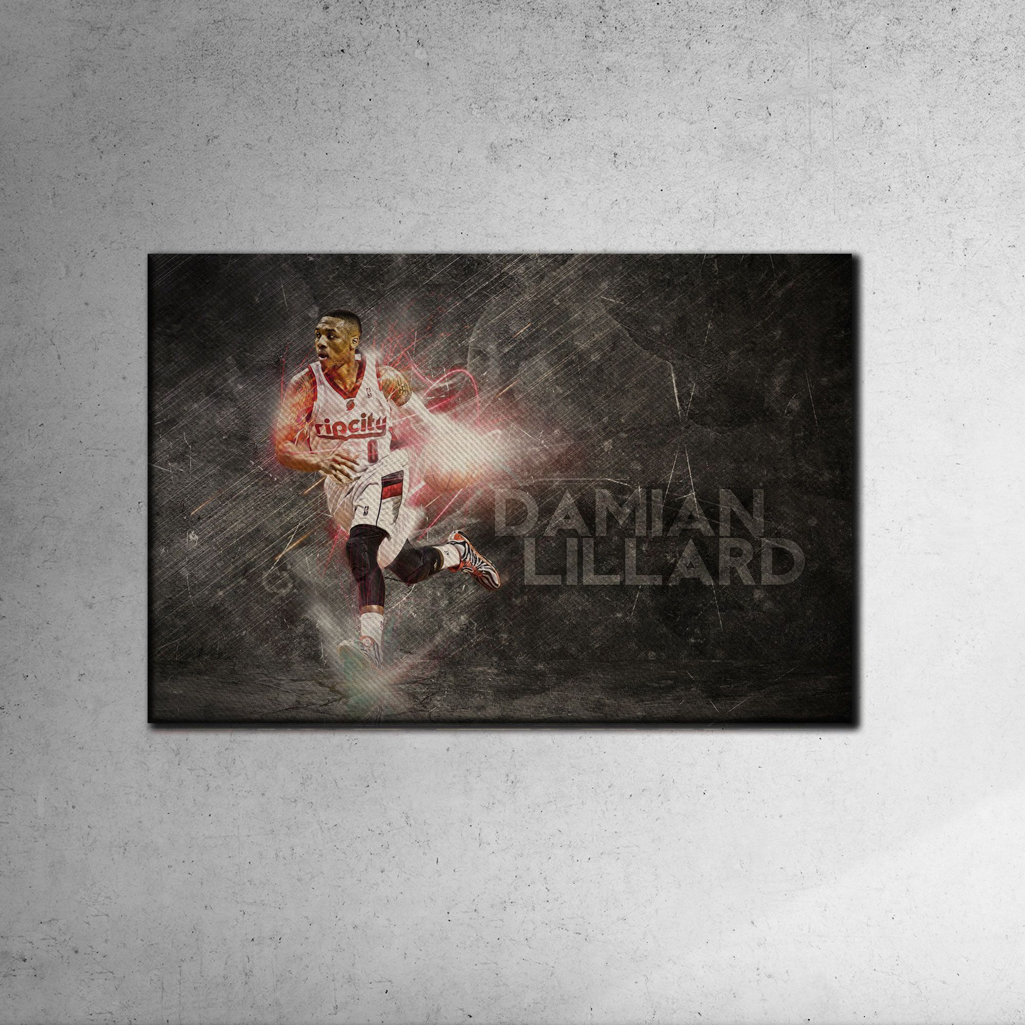 Damian Lillard Canvas Tablo (Nba-canvas-damian3)
