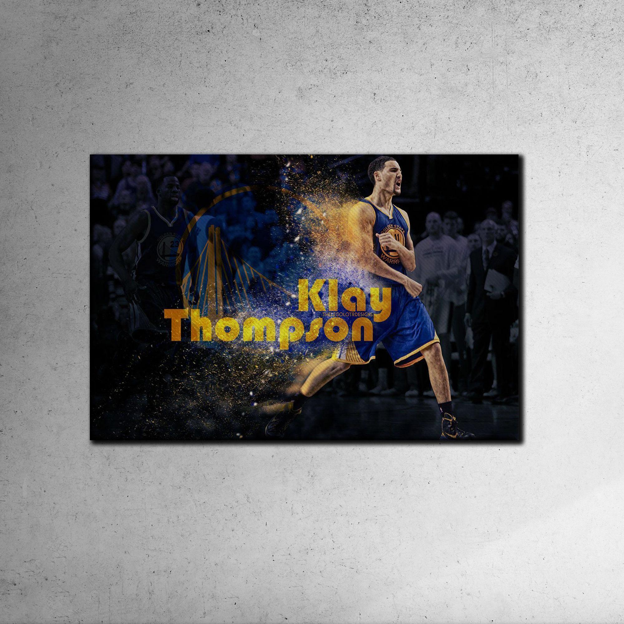 Klay Thompson Canvas Tablo (Nba-canvas-klay)
