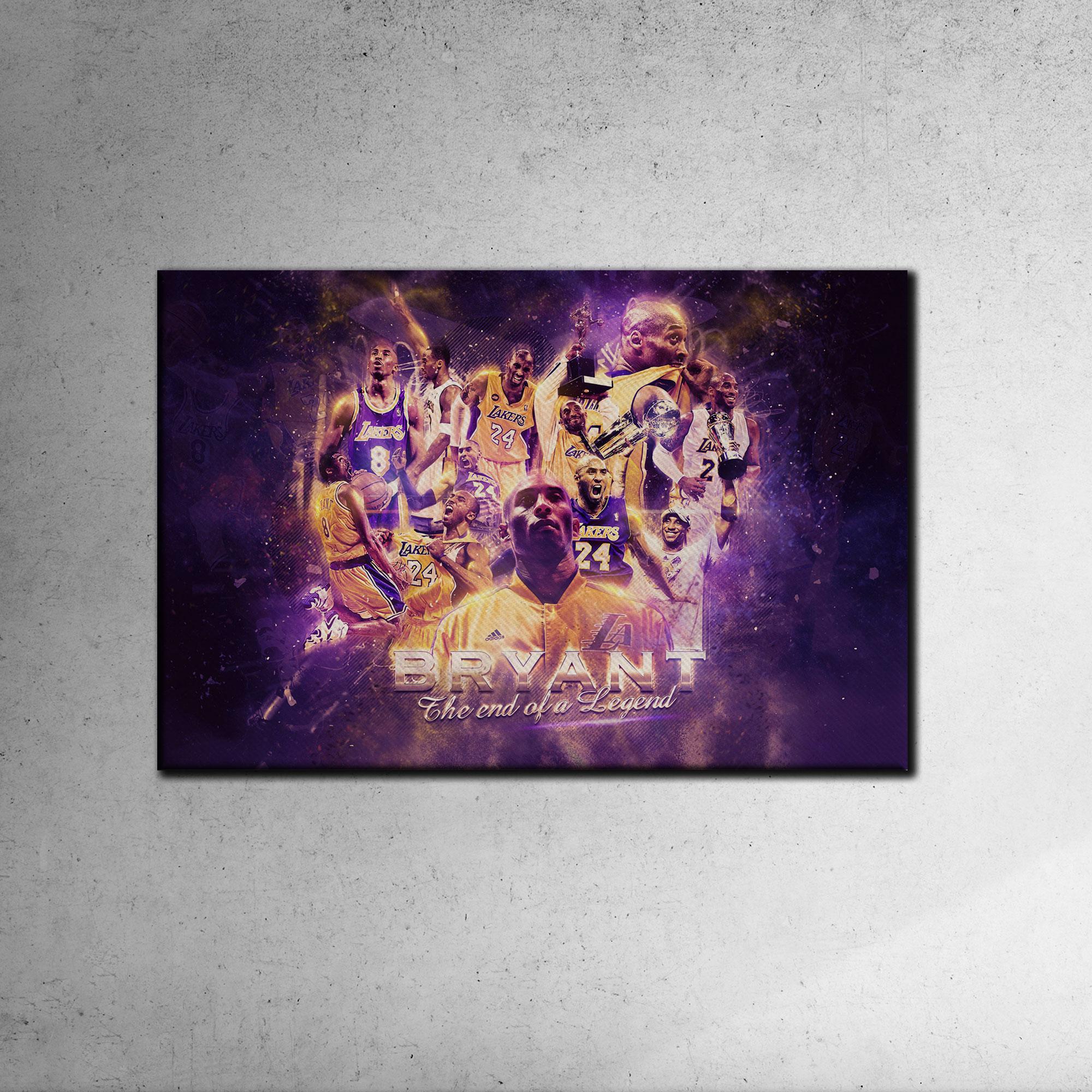 Kobe Bryant Canvas Tablo (Nba-canvas-kobe1)