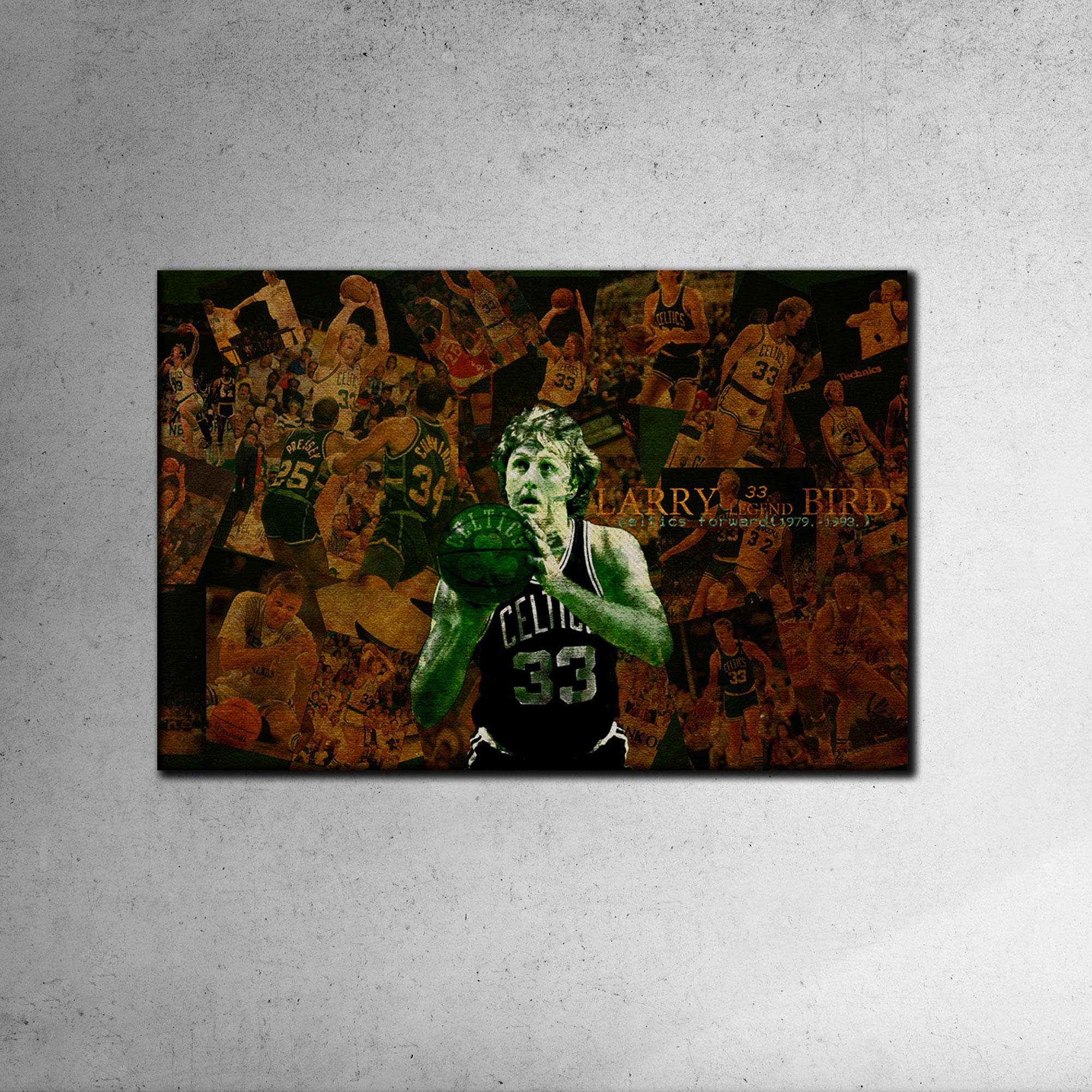 Larry Bird Canvas Tablo (Nba-canvas-larry1)