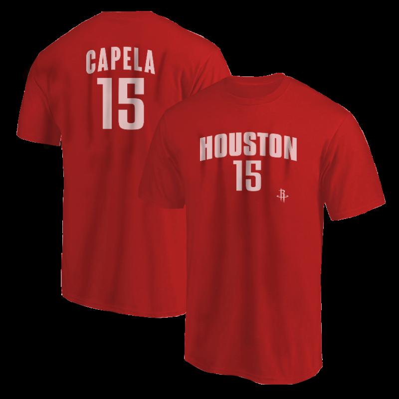 Houston Rockets Clint Capela Tshirt (TSH-BLC-PLT-Capela15-606)