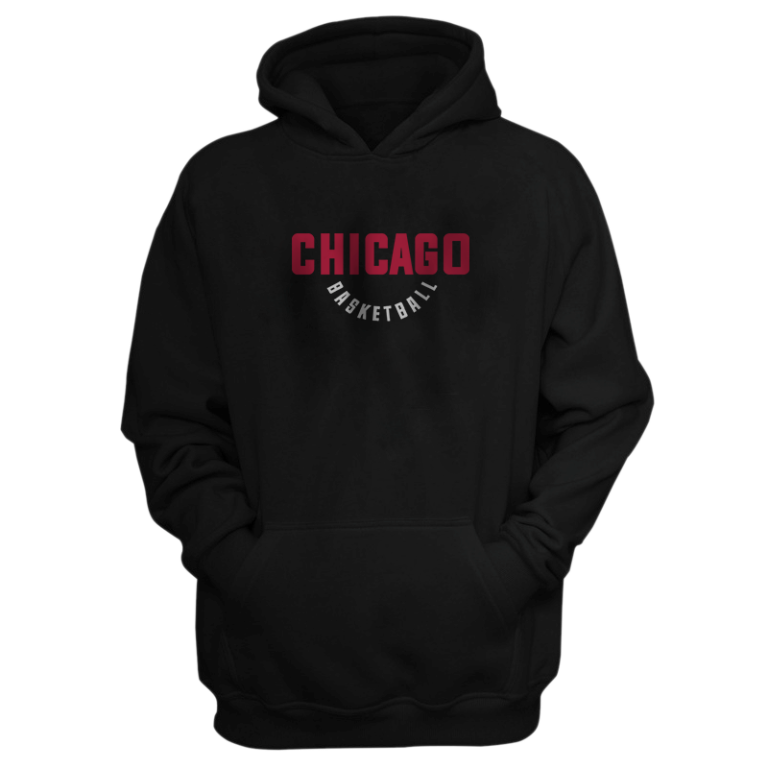Chicago Hoodie (HD-BLC-NP-258-NBA-CHI-WARM.UP)