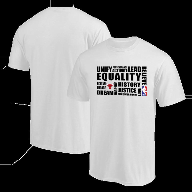 EQUALITY Chicago Bulls Tshirt (TSH-WHT-NP-292-NBA-CHI.syh)