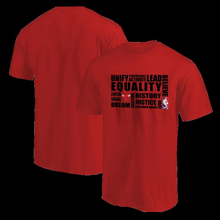 EQUALITY Chicago Bulls Tshirt (TSH-RED-NP-292-NBA-CHI.syh)