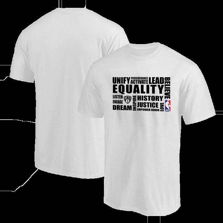 EQUALITY Brooklyn Nets  Tshirt (TSH-WHT-NP-292-NBA.BRKL.syh)