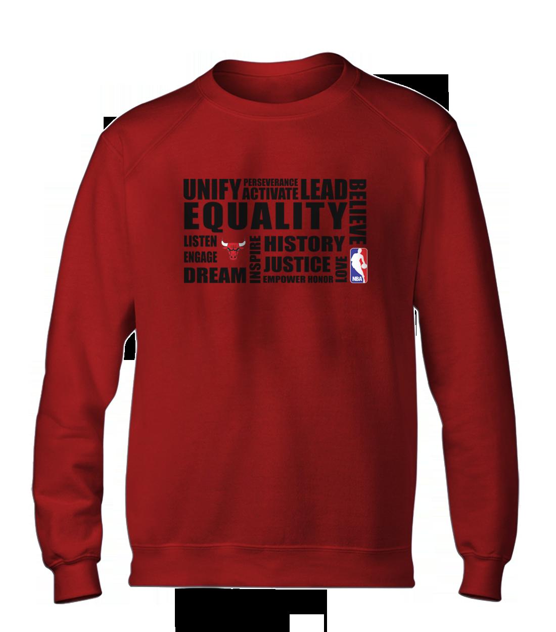 EQUALITY Chicago Bulls Basic (BSC-RED-NP-292-NBA-CHI.black)