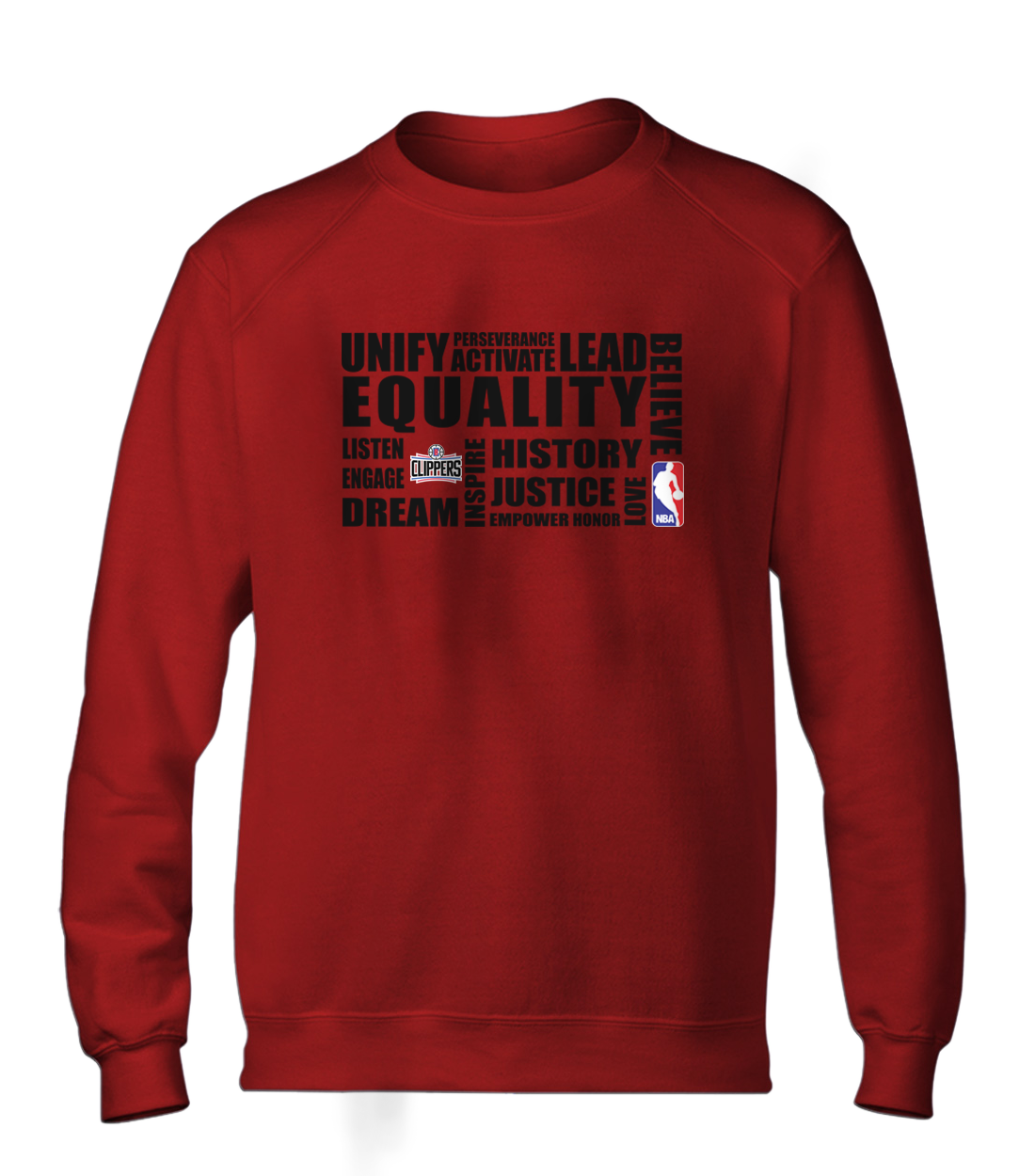 EQUALITY  L.A. Clippers  Basic (BSC-RED-NP-292-NBA-LAC.syh)