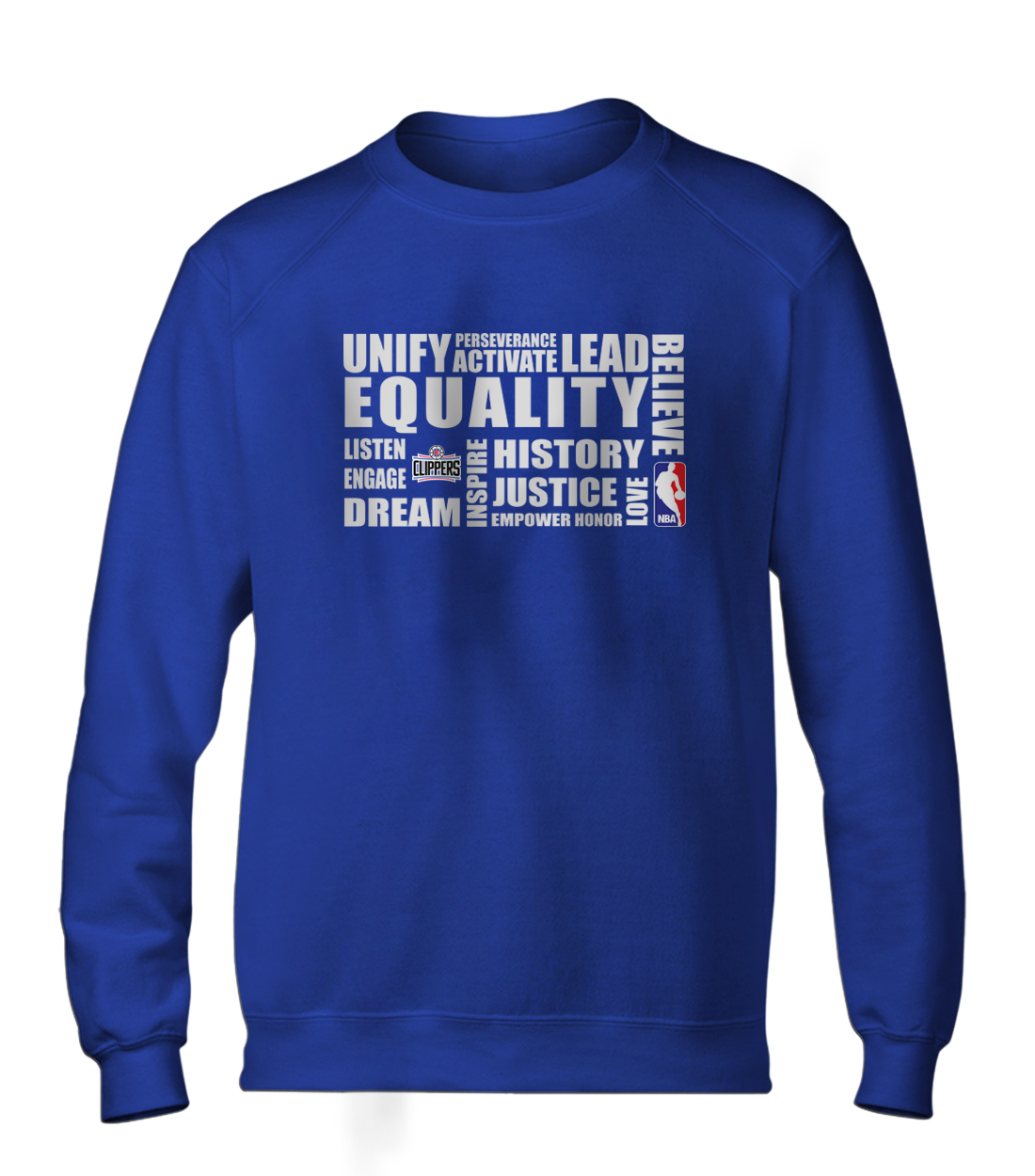 EQUALITY  L.A. Clippers  Basic (BSC-BLU-291-NBA-LAC.byz)