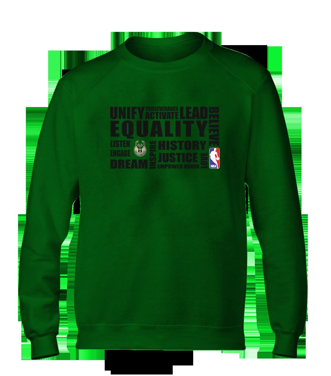 EQUALITY Milwaukee Bucks Basic (BSC-GRN-NP-292-NBA.MIL.syh)