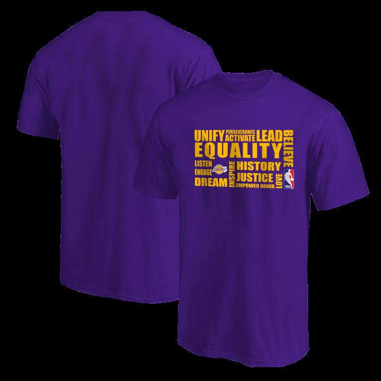 EQUALITY L.A. Lakers Tshirt (TSH-PRP-NP-290-NBA.LAL.yllw)