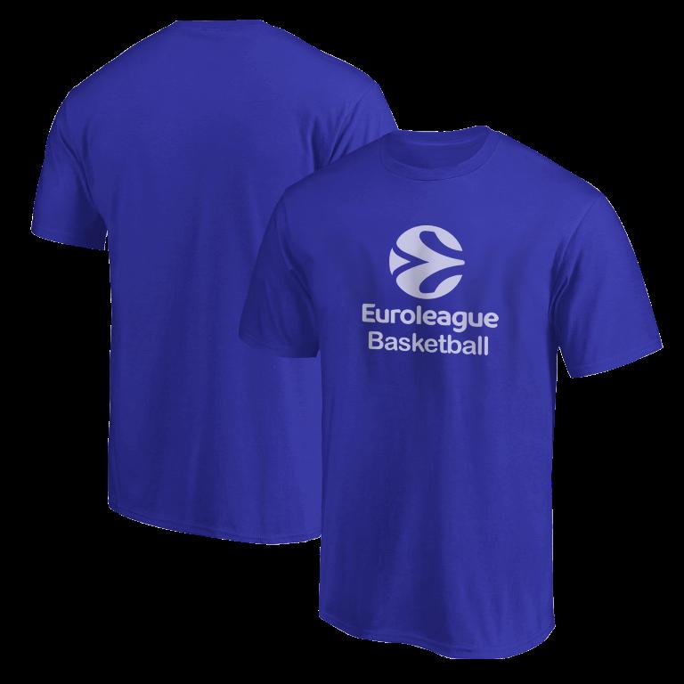 Euroleague Logo Euroleague Basketball Tshirt (TSH-BLU-PLT.euro.bsktbll.new-611)