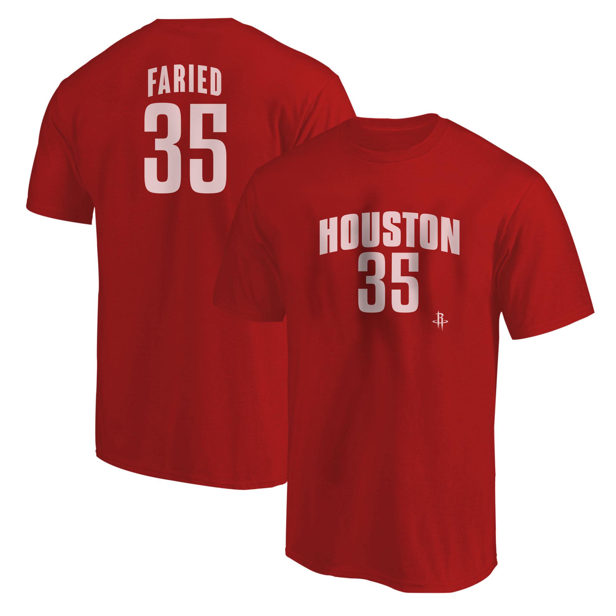 Kenneth Faried Tshirt (TSH-RED-NP-Faried35-617)