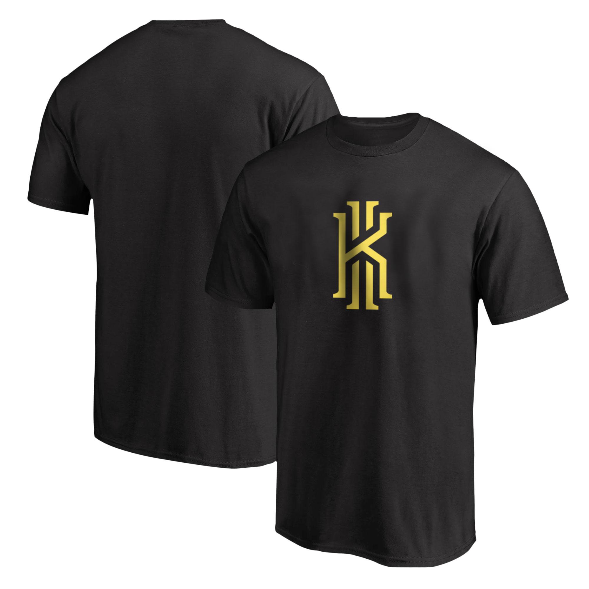 Kyrie Irving Gold Tshirt (TSH-BLC-PLT-30-GLD-KYRIE.LOGO)