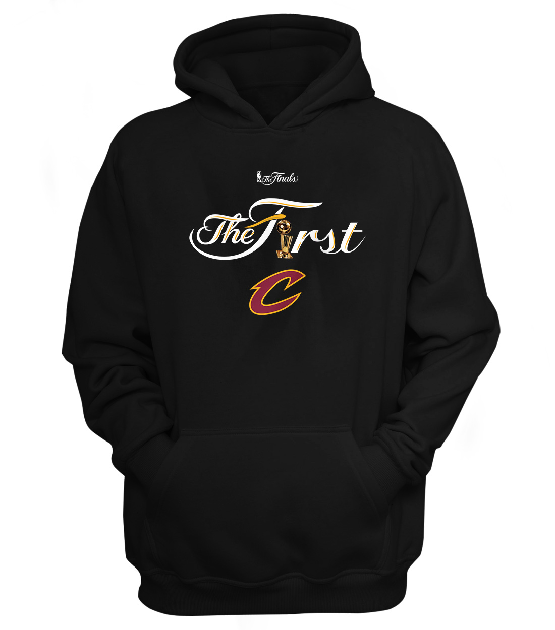 Cleveland Cavaliers Cleveland The First Hoodie (HD-BLC-67-NBA-CLE-THEFIRST)