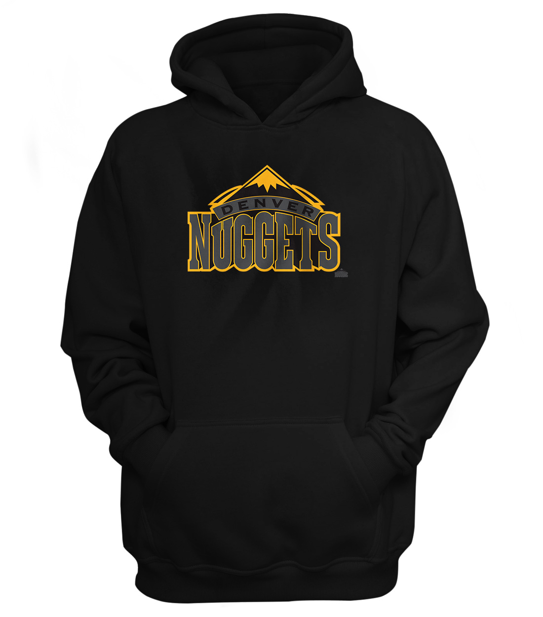 Denver Nuggets Hoodie (out-HD-BLC-73-NBA-DEN-NUGGETS)