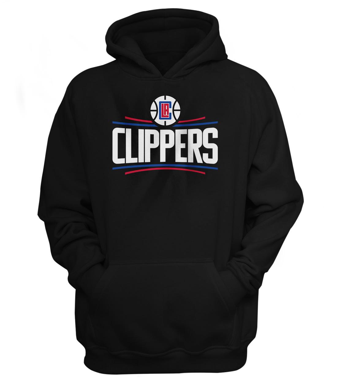 L.A. Clippers Hoodie (HD-BLC-NP-119-NBA-LAC-LOGO)