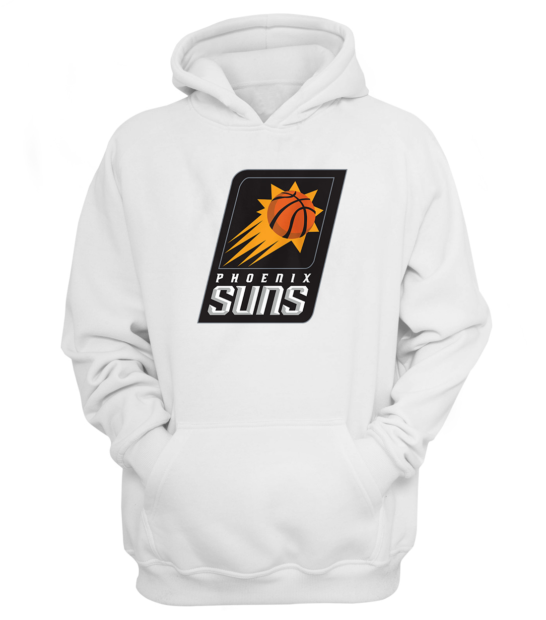 Phoenix Suns Hoodie (HD-WHT-NP-187-NBA-PHO-LOGO)