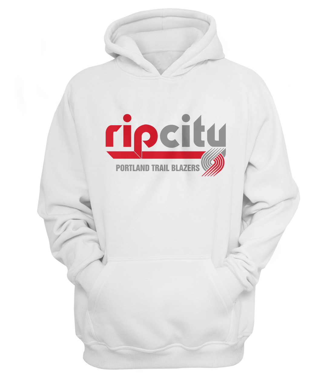Portland Rip City Hoodie (HD-WHT-NP-190-NBA-POR-RIP.CITY)