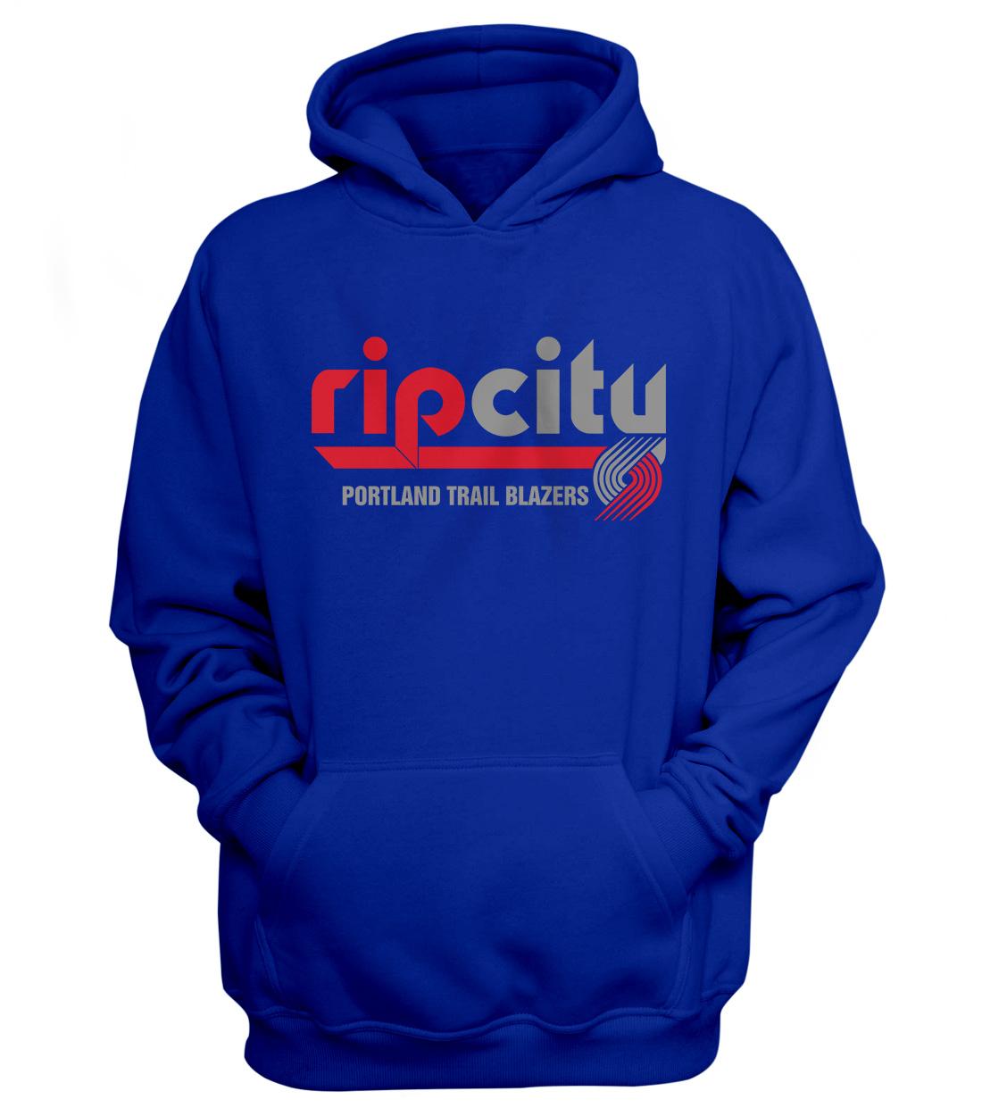 Portland Rip City Hoodie (HD-BLU-NP-190-NBA-POR-RIP.CITY)