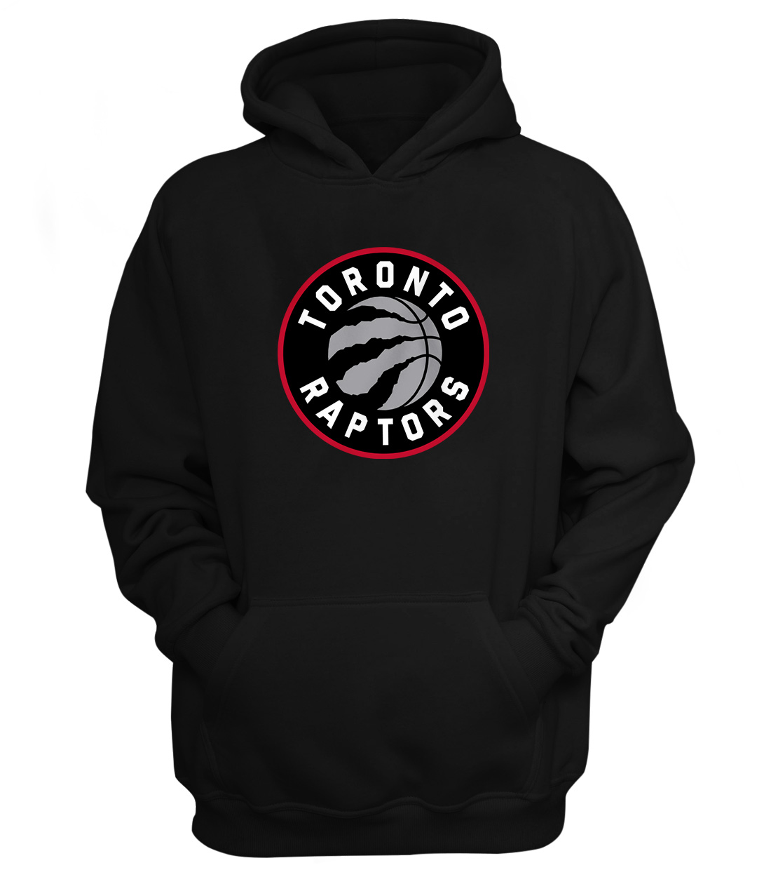 Toronto Raptors Hoodie (HD-BLC-NP-197-NBA-TOR-LOGO)
