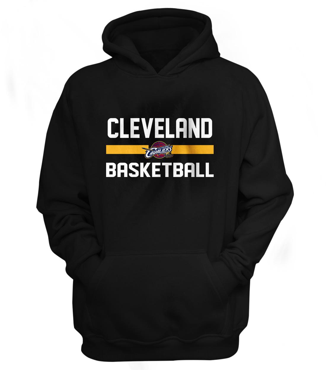 Cleveland Basketball Hoodie (HD-BLC-NP-66-NBA-CLE-BASKETBALL)