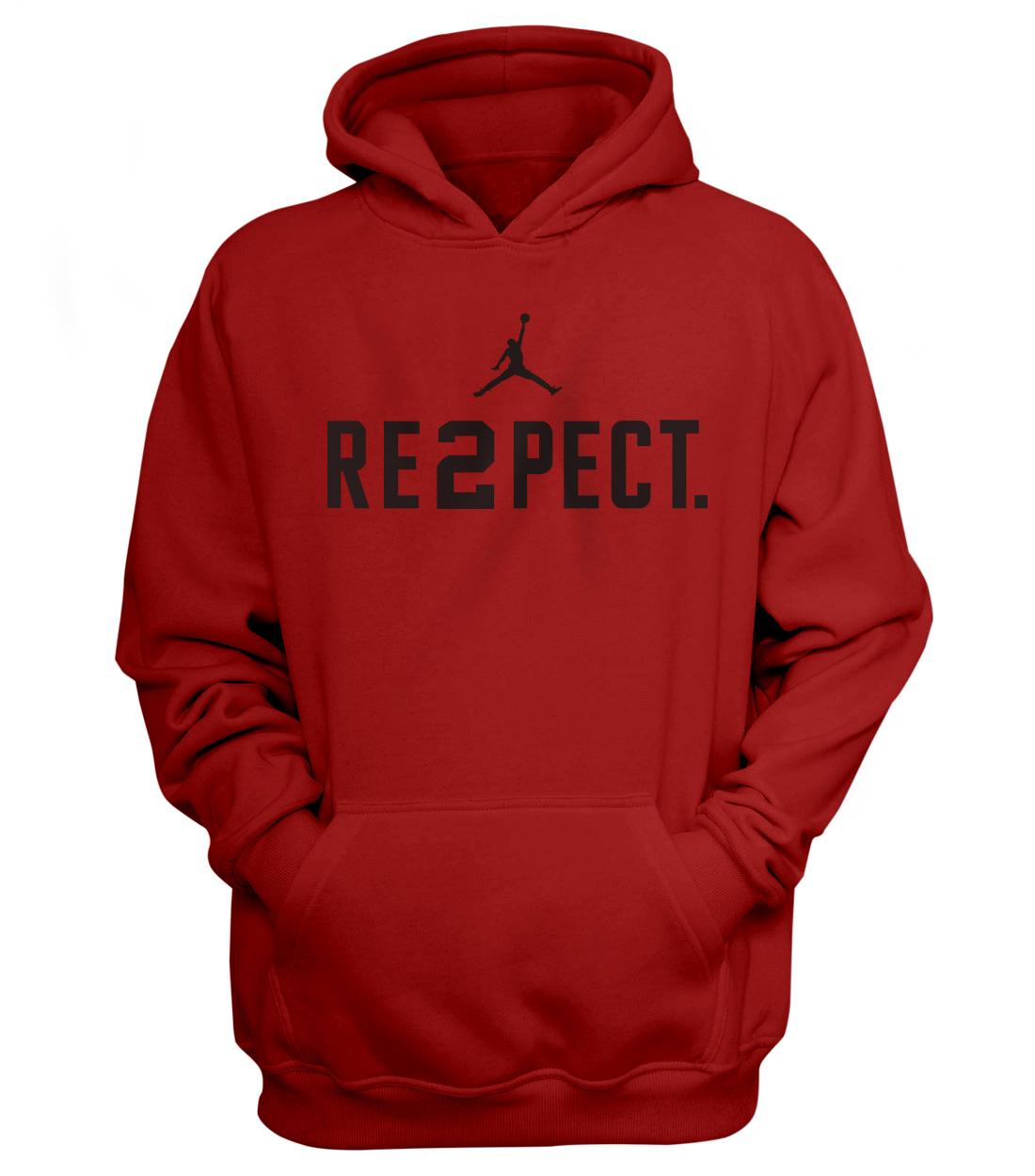 RE2PECT. HOODIE (HD-RED-NP-112-Respect-Siyah)