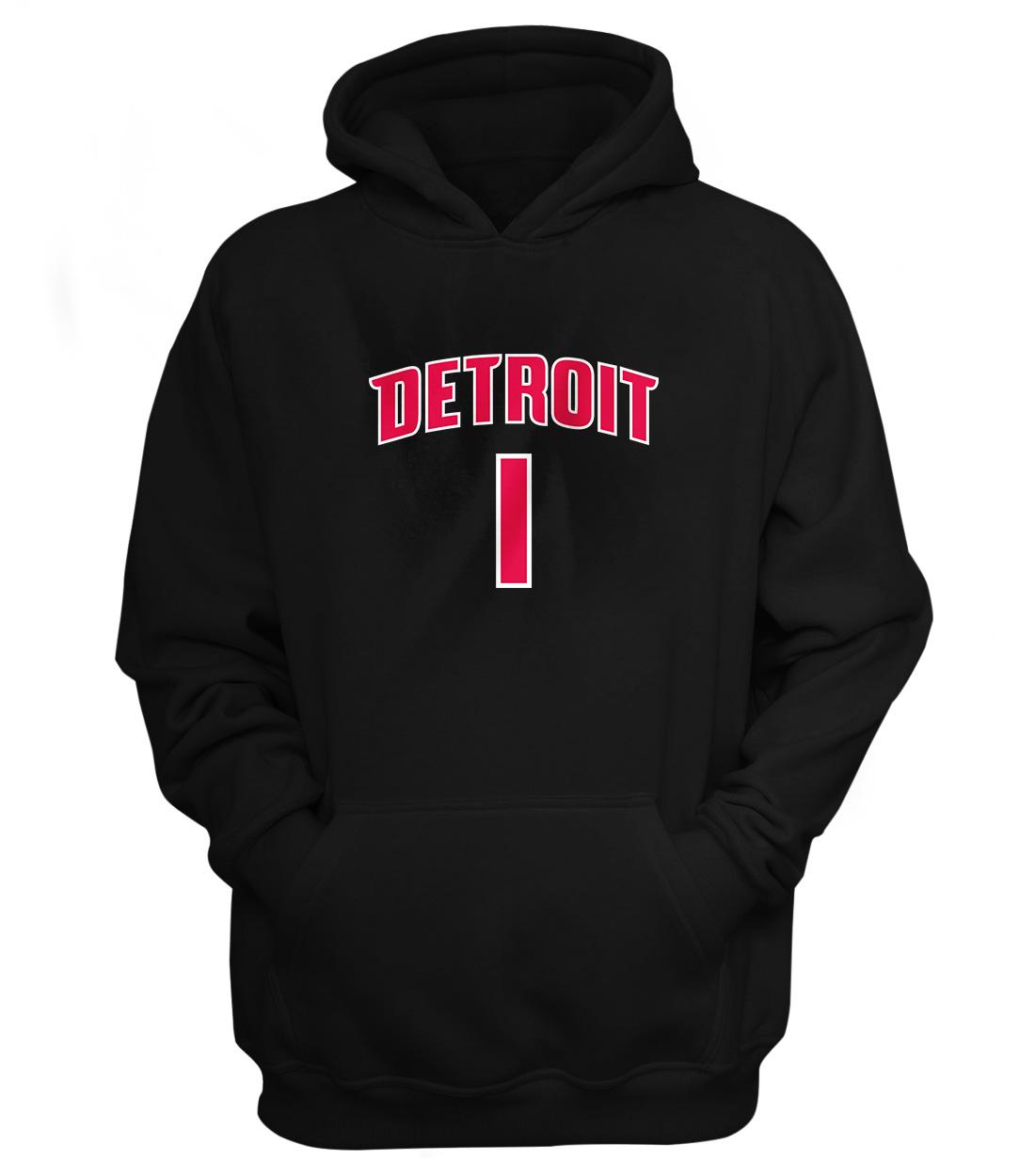 Detroit Pistons Chauncey Billups Hoodie (HD-BLC-NP-75-PLYR-DET-BILLUPS.FRM)