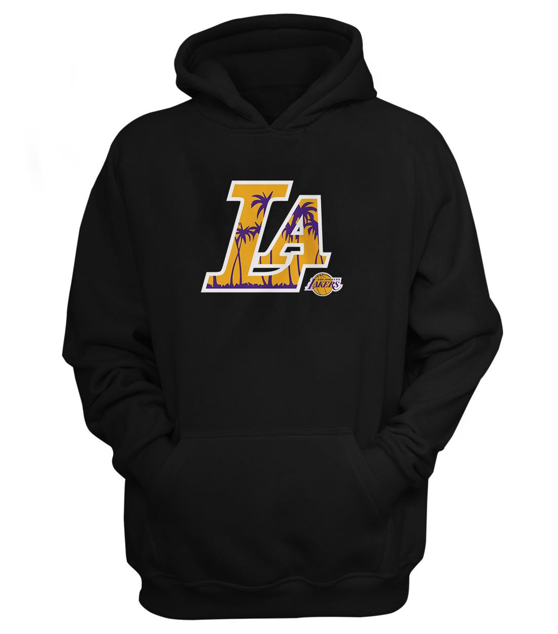 L.A. Lakers  Hoodie (HD-BLC-NP-142-NBA-LAL-L.A.)