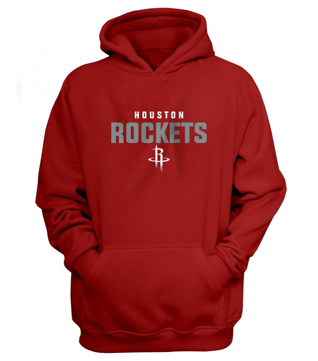 Houston Rockets Hoodie (HD-RED-NP-108-NBA-HOU-ROCKETS.FLAT)