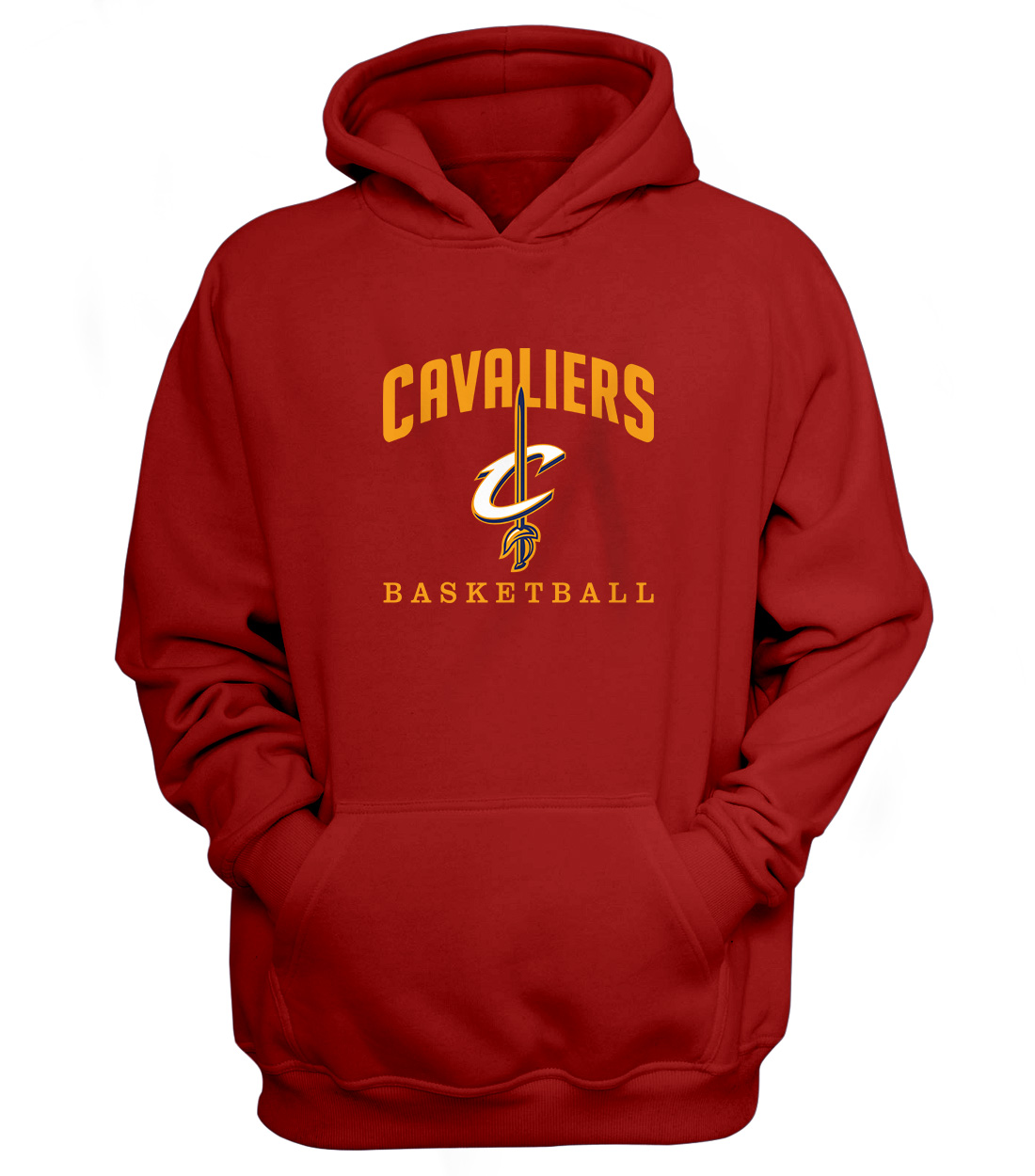 Cleveland Cavaliers Hoodie (HD-RED-NP-61-NBA-CLE-CAVS.ARCH)