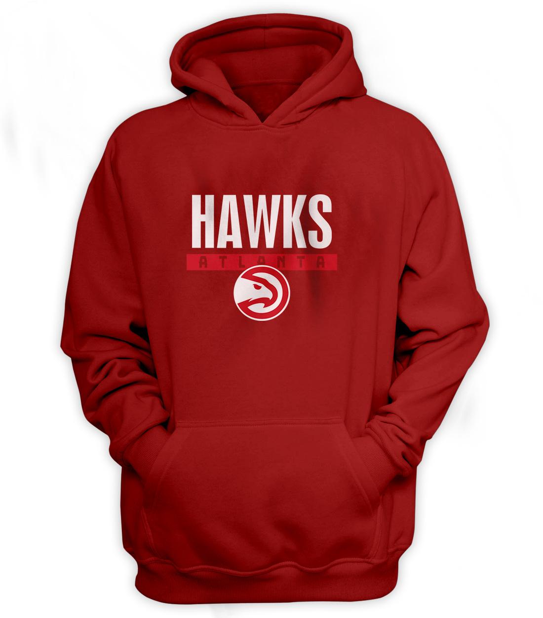 Atlanta Hawks Hoodie (HD-RED-NP-19-NBA-ATL-HAWKS)