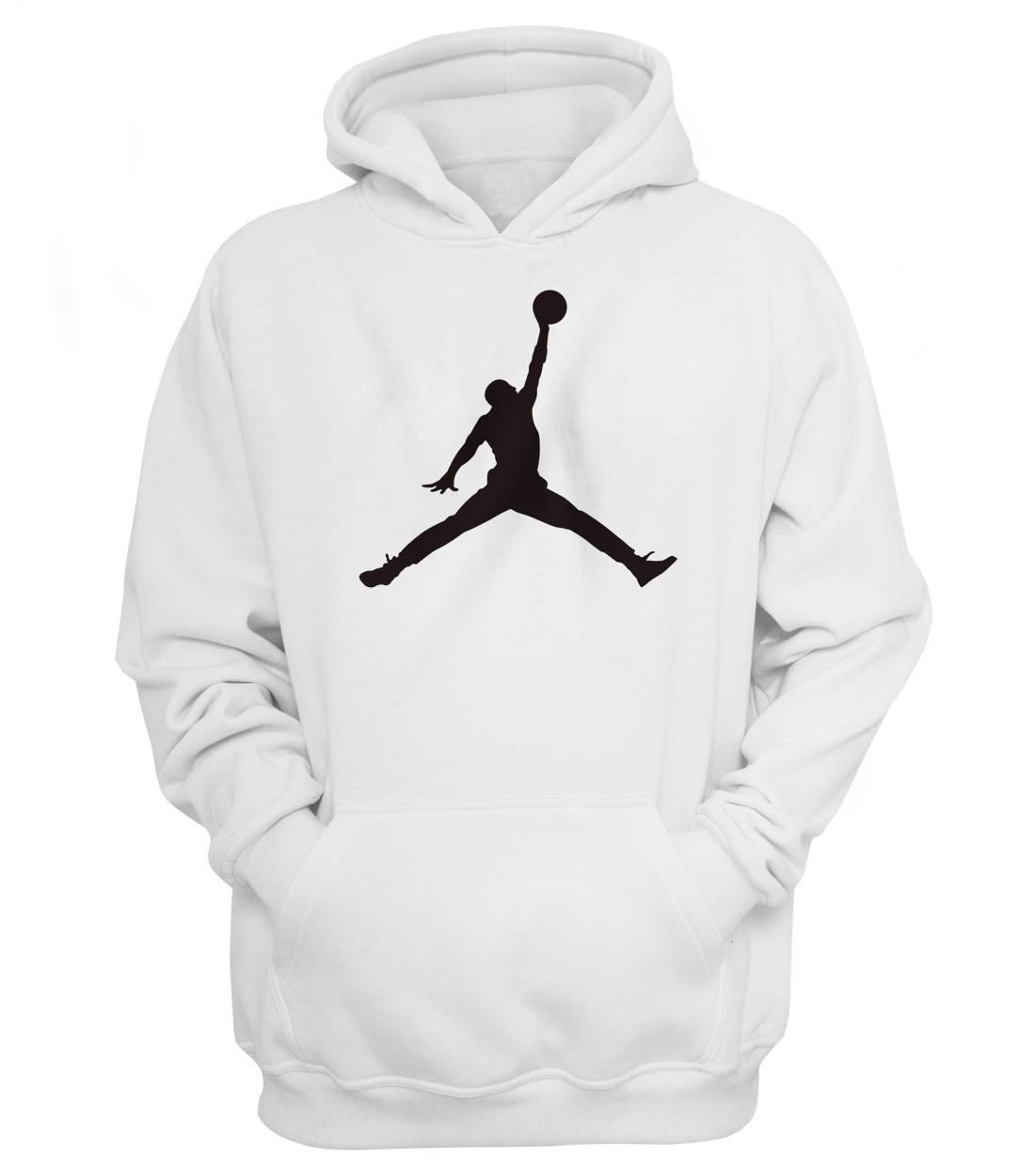 Air Jordan Hoodie (White)