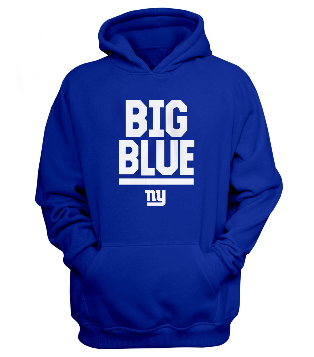 New York Giants Hoodie (HD-BLU-NP-nygiants-624)