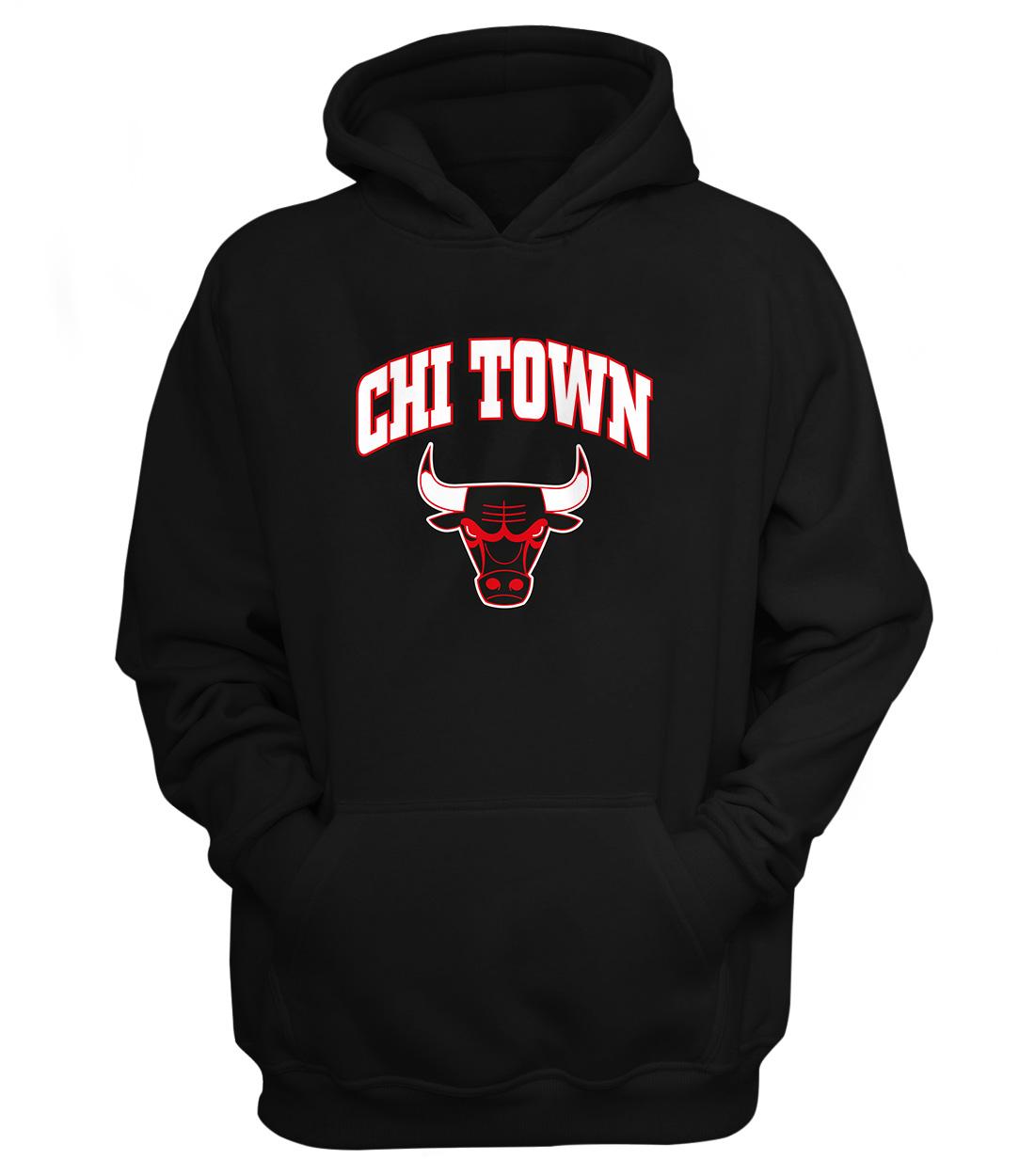 Chicago Bulls Chi Town Hoodie (HD-BLC-NP-47-NBA-CHI-TOWN)