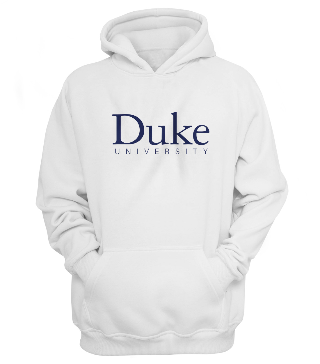 Duke University Hoodie (HD-WHT-ncaa-NP-duke-512)