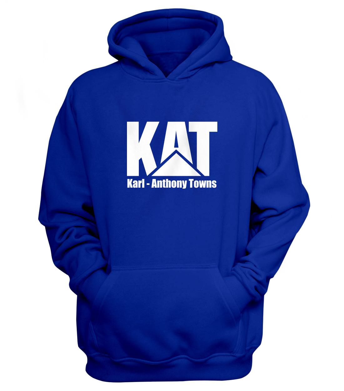 Karl Anthony Towns Hoodie (HD-BLU-NP-kat-logo-616)