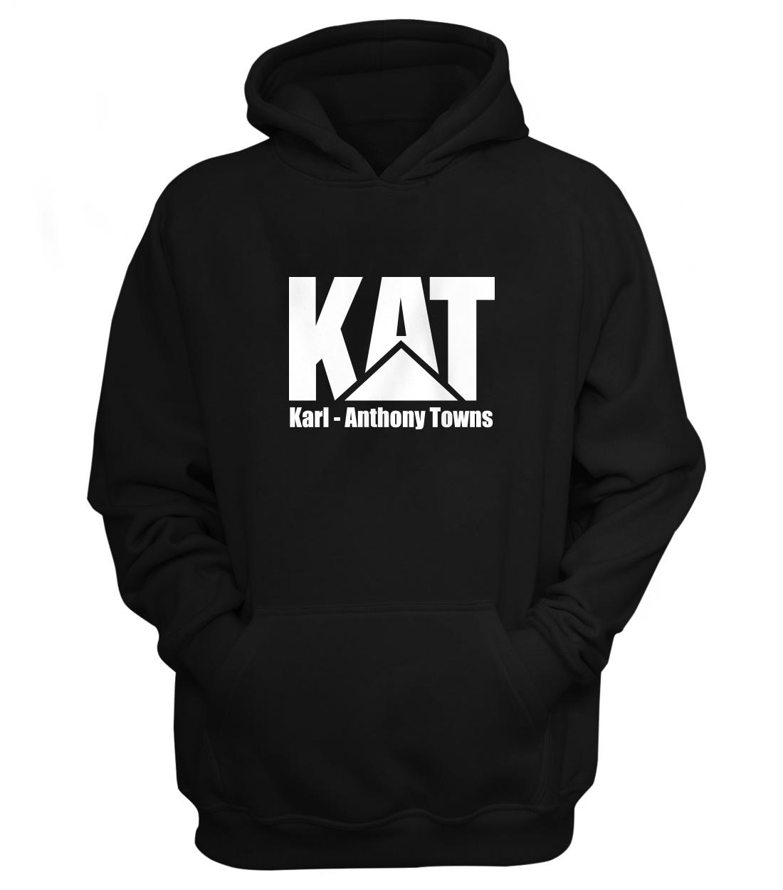Karl Anthony Towns Hoodie (HD-BLC-NP-kat-logo-616)