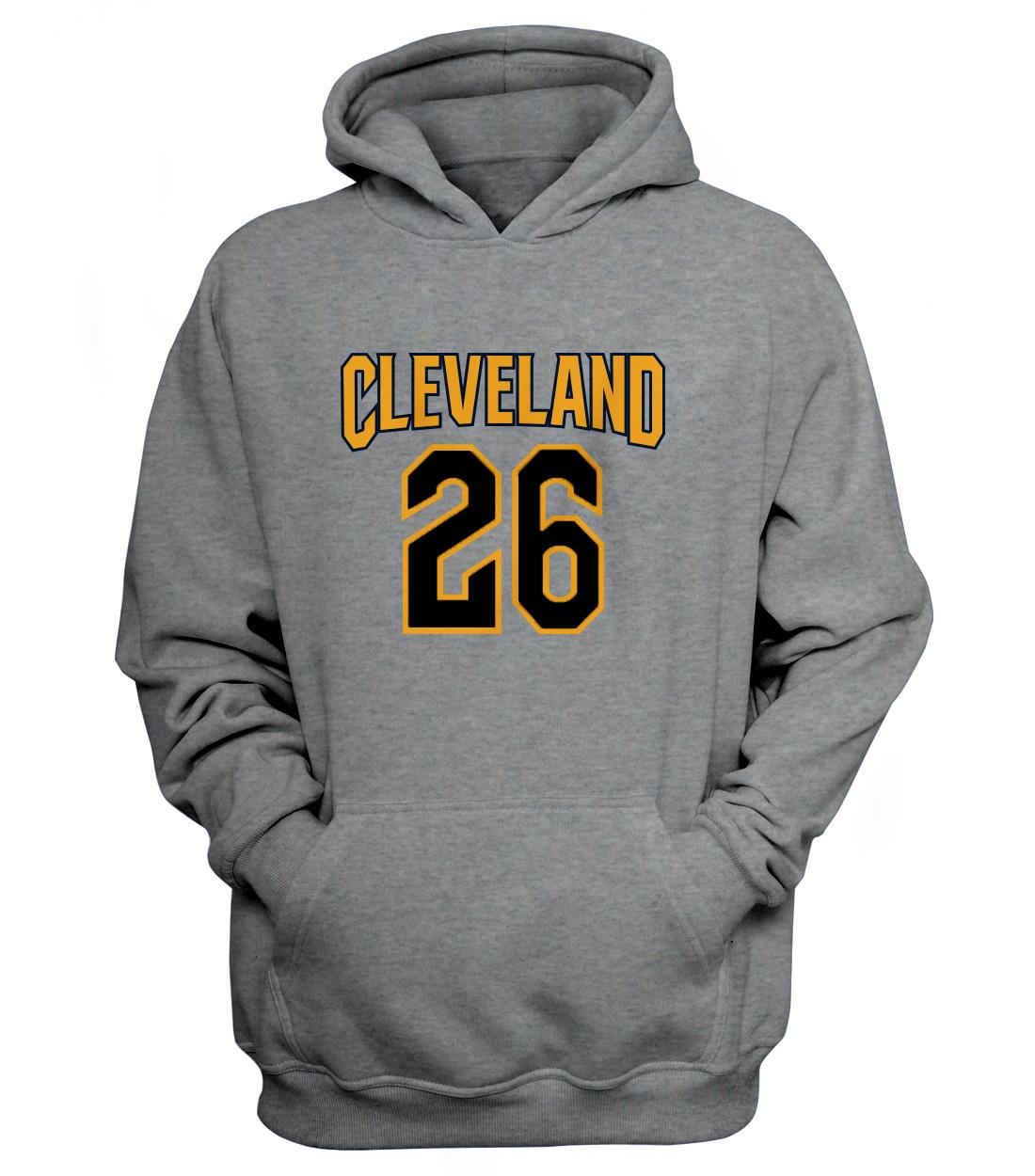 Cleveland Cavaliers Cleveland Kyle Korver Hoodie (HD-grey-60-PLYR-CLE-KORVER.FRM)