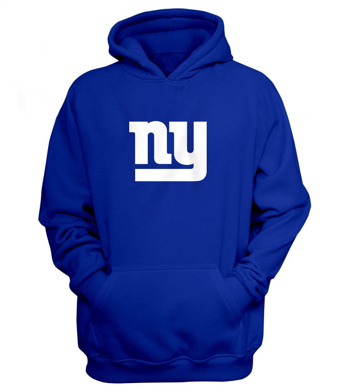 Ny Giants Logo Hoodie (HD-BLU-NP-ny-logo-625)