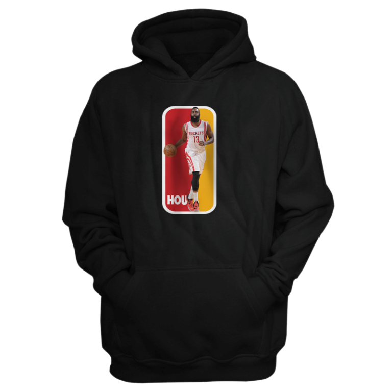 Houston Rockets James Harden Dribbling Hoodie (HD-blck-115-PLYR-HOU-HARDEN.DRIB.)