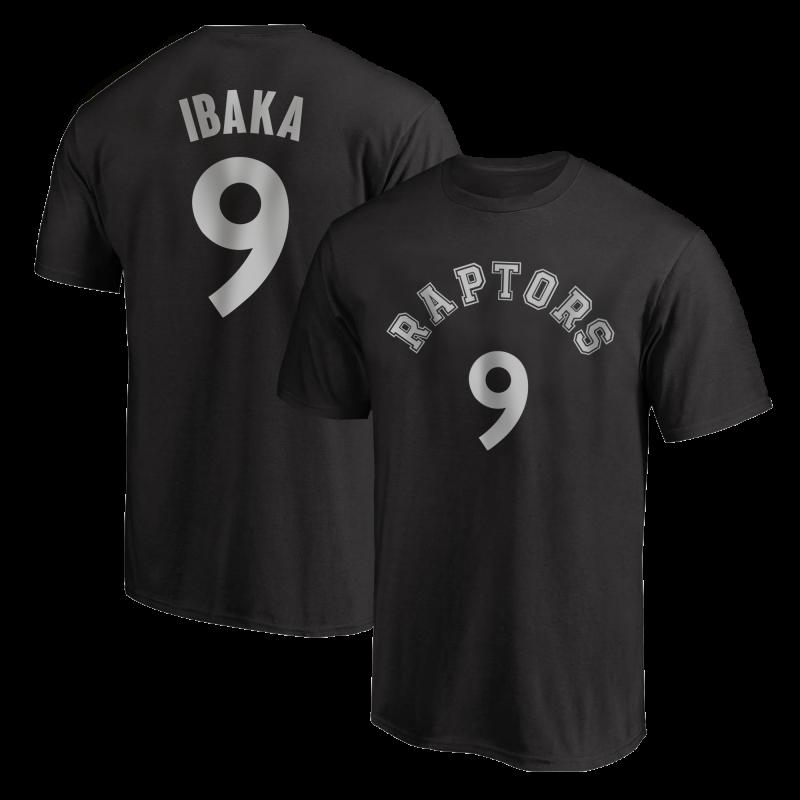 Toronto Raptors Serge Ibaka  Tshirt (TSH-RED-PLT-tor-SergeIbaka-630)