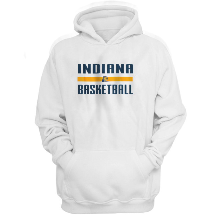 Indiana Basketball Hoodie (HD-WHT-NP-indiana-bsktbll-516)