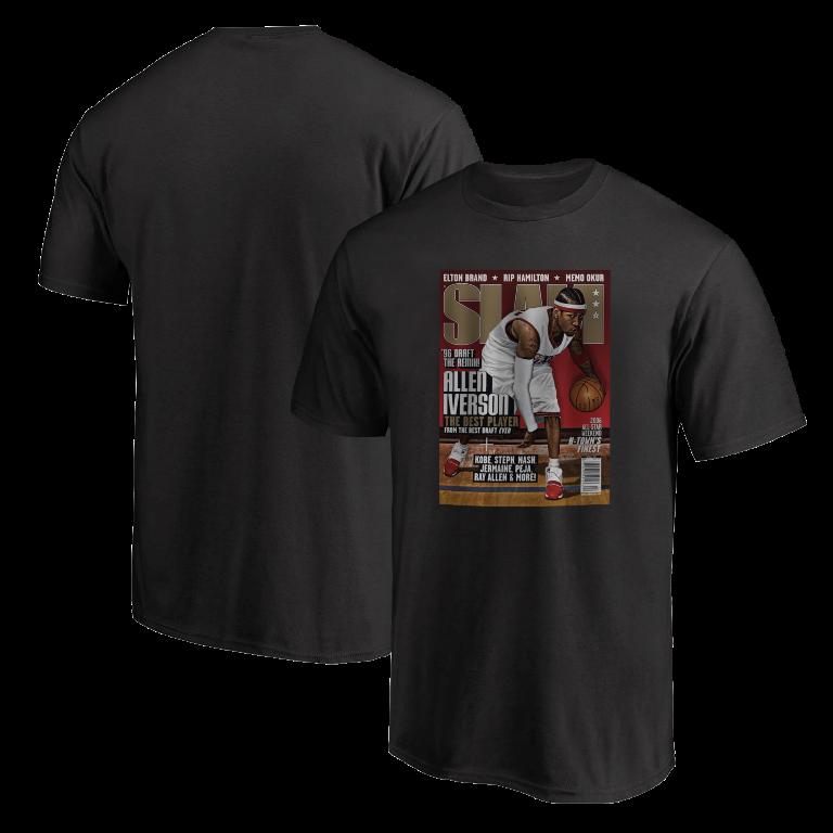 Allen Iverson Slam Tshirt (TSH-BLC-245-PLYR-SLAM-IVERSON)