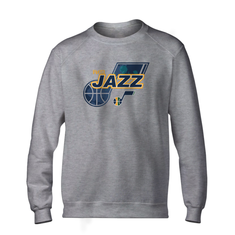 Utah Jazz Basic (BSC-GRY-NP-200-NBA-UTH-LOGO)