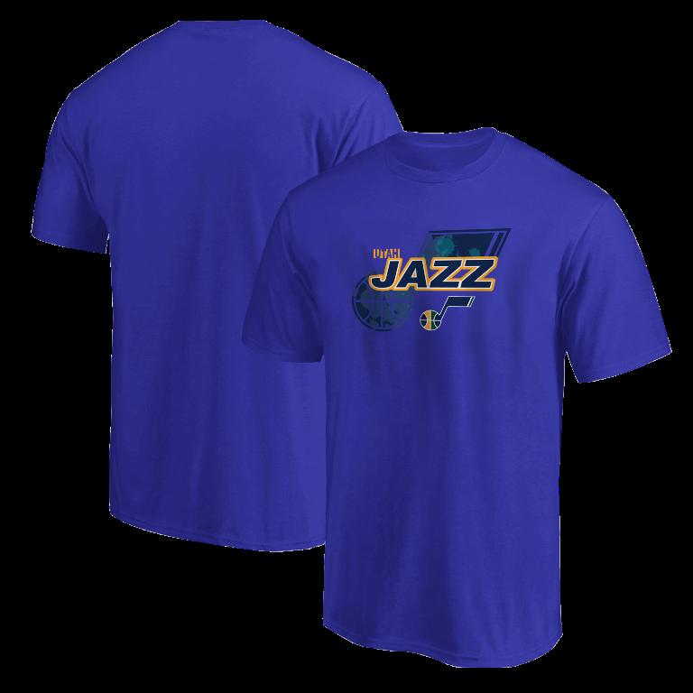 Utah Jazz Tshirt (TSH-BLU-NP-200-NBA-UTH-LOGO)